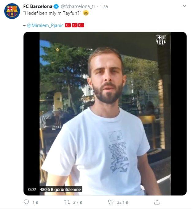 Barcelona'ya transfer olan Planic'ten efsane Kolpaçino repliği: Hedef ben miyim Tayfun?