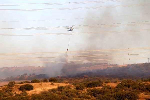 Gelibolu'da orman yangını (2)