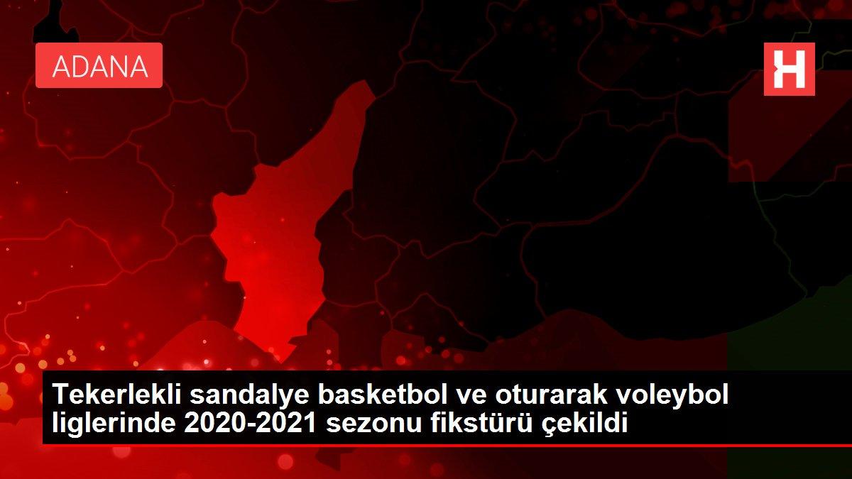 Tekerlekli sandalye basketbol ve oturarak voleybol liglerinde 2020-2021 sezonu fikstürü çekildi