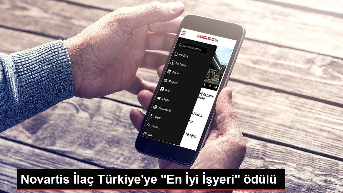 Novartis İlaç Türkiye'ye 'En İyi İşyeri' ödülü