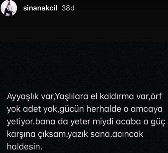 Sinan Akçıl, yaşlı adamı döven Halil Sezai'ye meydan okudu: Gücün bana da yeter mi?
