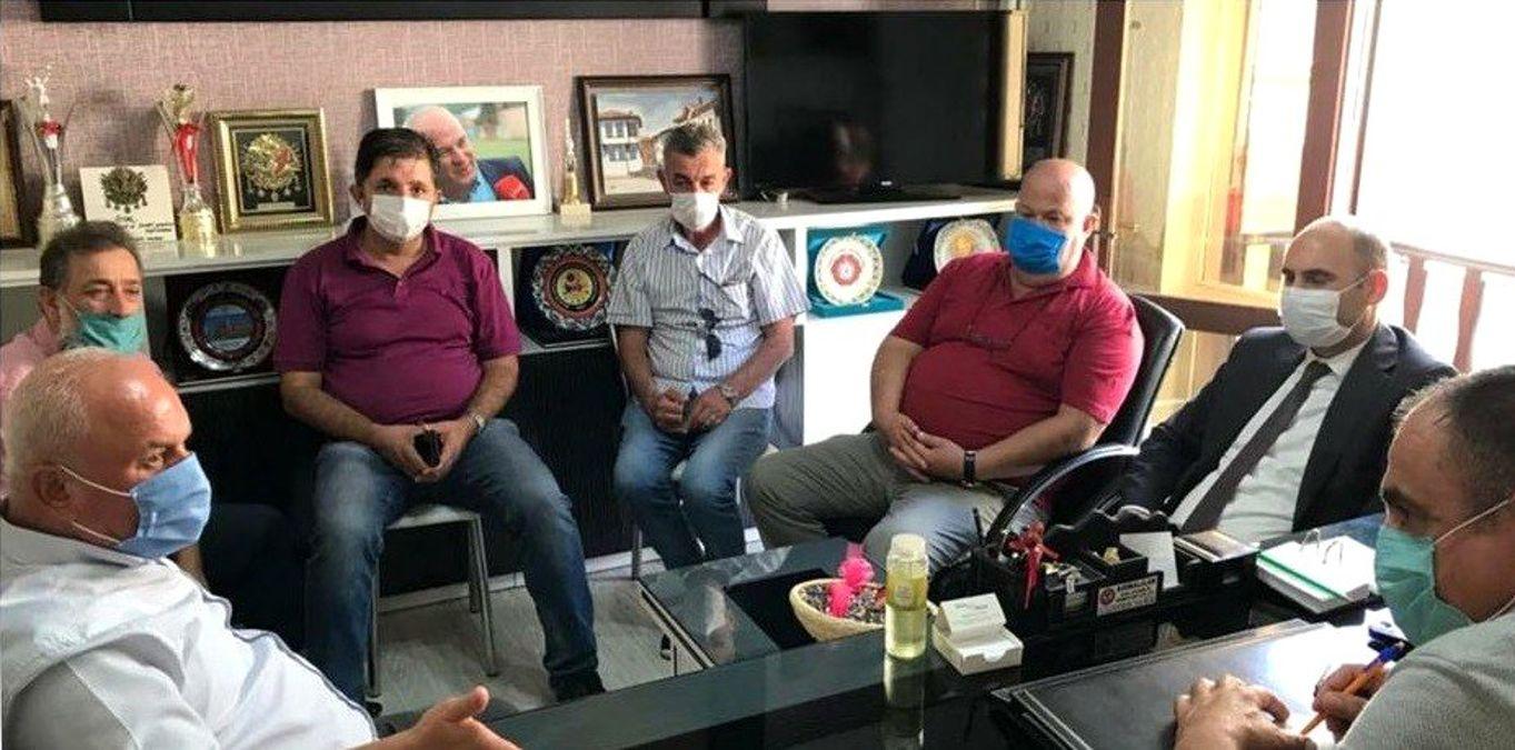 İl Müdürü Özdemir ve Dernekler Müdürü Kaya'dan ASKF'ya ziyaret