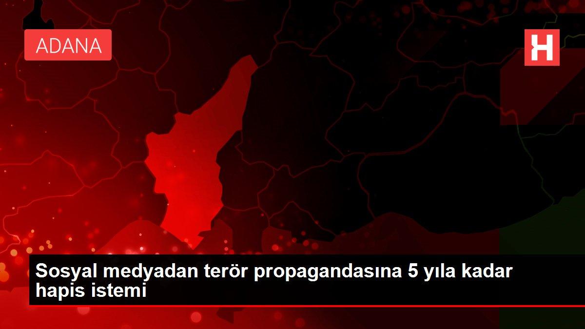 Son dakika haberleri | Sosyal medyadan terör propagandasına 5 yıla kadar hapis istemi