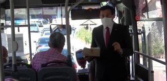Emin Demirkol: Vali Ümit, şehir içi otobüslerde korona virüs denetimi yaptı