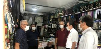 İlyas Memiş: Son dakika haber: Burhaniye'de Kaymakam Memiş koronavirüs denetimine katıldı