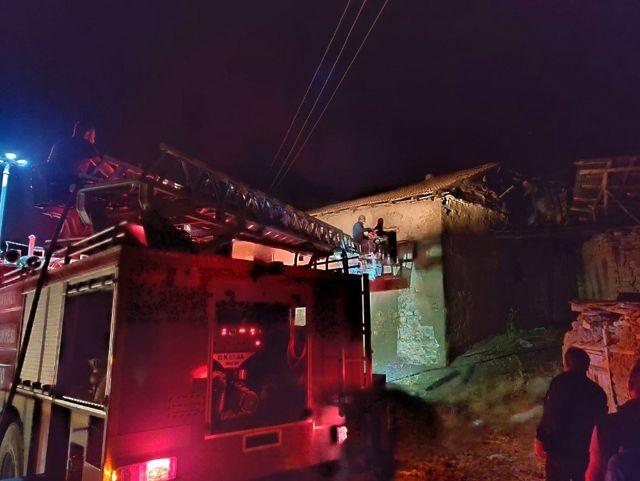 Son dakika haber | Yangında bir ev kullanılamaz hale geldi