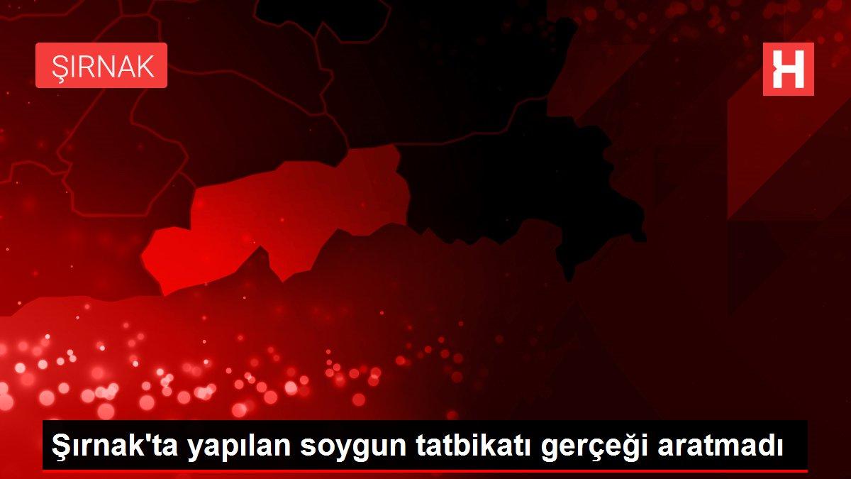 Şırnak'ta yapılan soygun tatbikatı gerçeği aratmadı