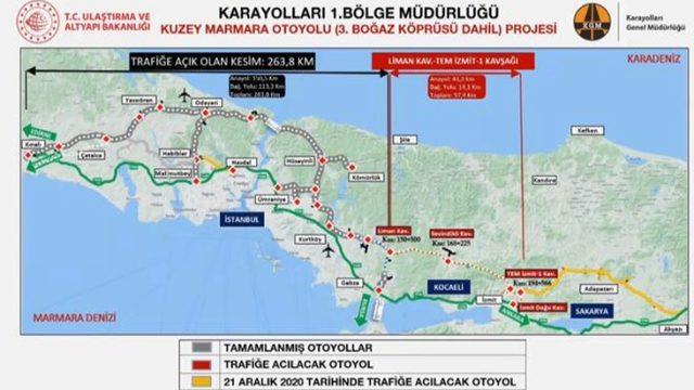 Son dakika: Erdoğan, Kuzey Marmara Otoyolu'nun Gebze-İzmit Kavşağı kesimini açtı: Ülkemize yıllık katkısı 595 milyon lira