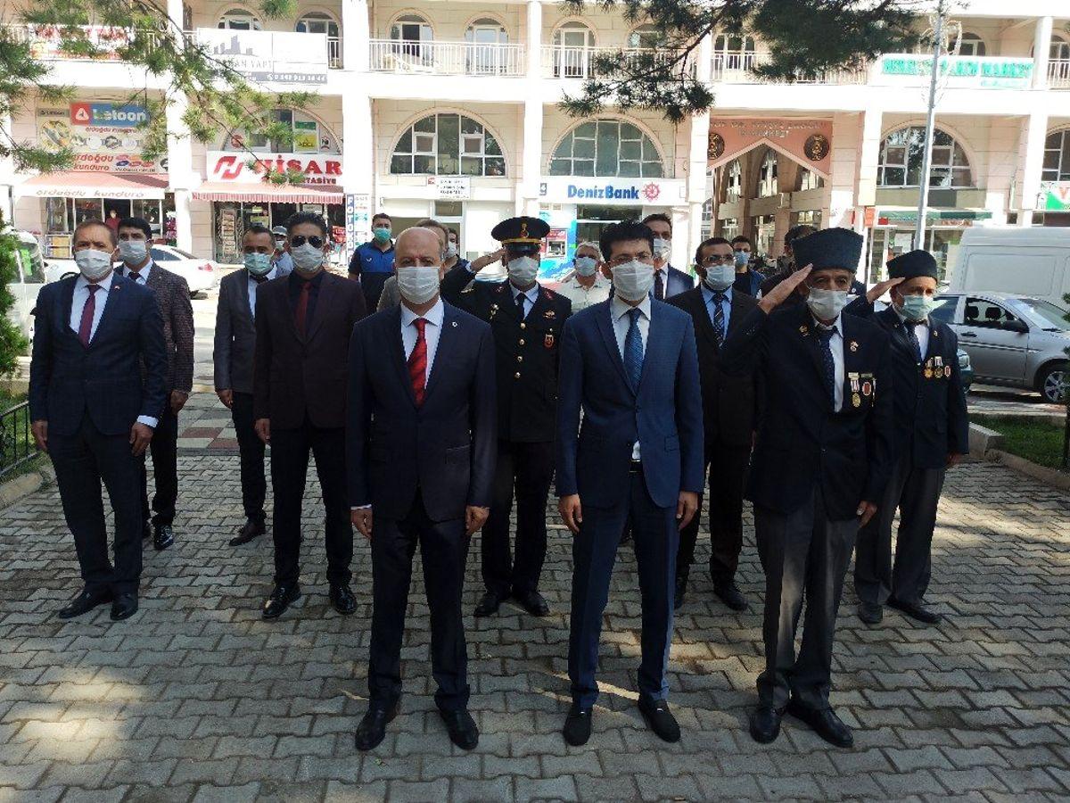 Şuhut'ta 19 Eylül Gaziler Günü törenle kutlandı