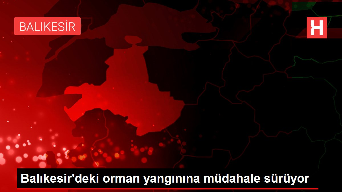 Son dakika haberleri: Balıkesir'deki orman yangını kontrol altına alındı