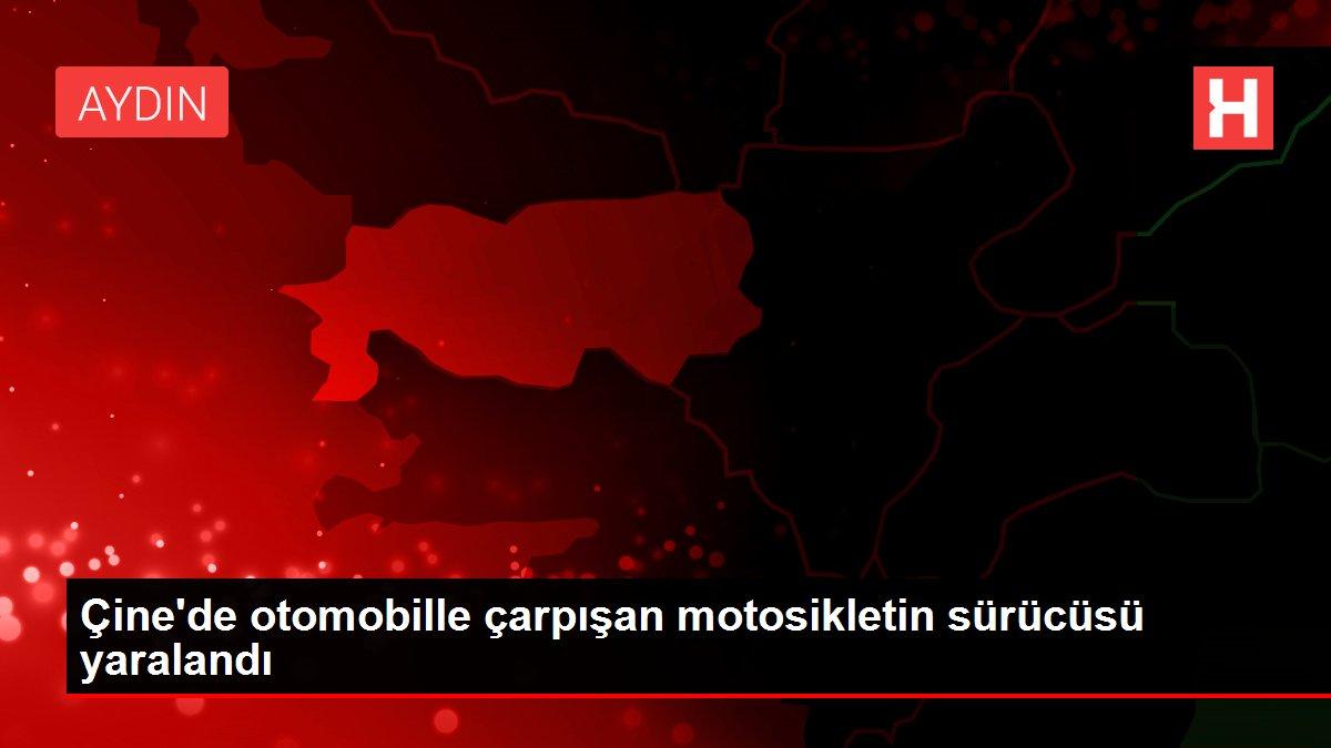Çine'de otomobille çarpışan motosikletin sürücüsü yaralandı