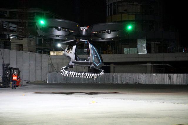 Dünya bunu konuşuyor: Türkiye'nin ilk uçan arabası Cezeri