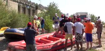 Göksu: Göksu Irmağı'nda rafting keyfi