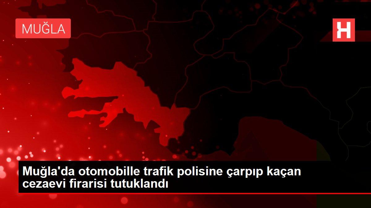 Son dakika haber: Muğla'da otomobille trafik polisine çarpıp kaçan cezaevi firarisi tutuklandı