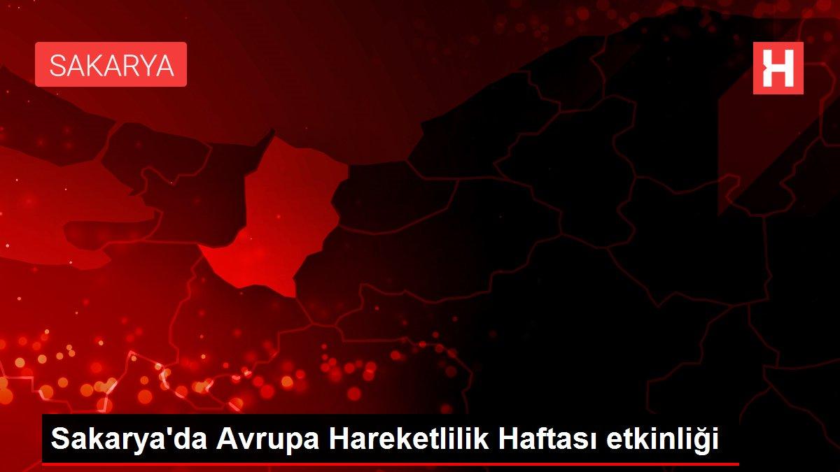 Sakarya'da Avrupa Hareketlilik Haftası etkinliği
