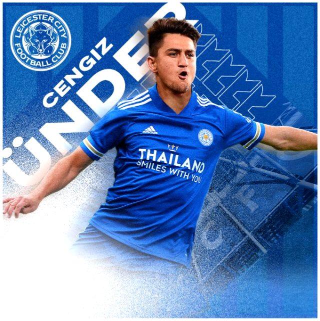 Son dakika! Leicester City, milli oyuncumuz Cengiz Ünder'i kadrosuna kattı