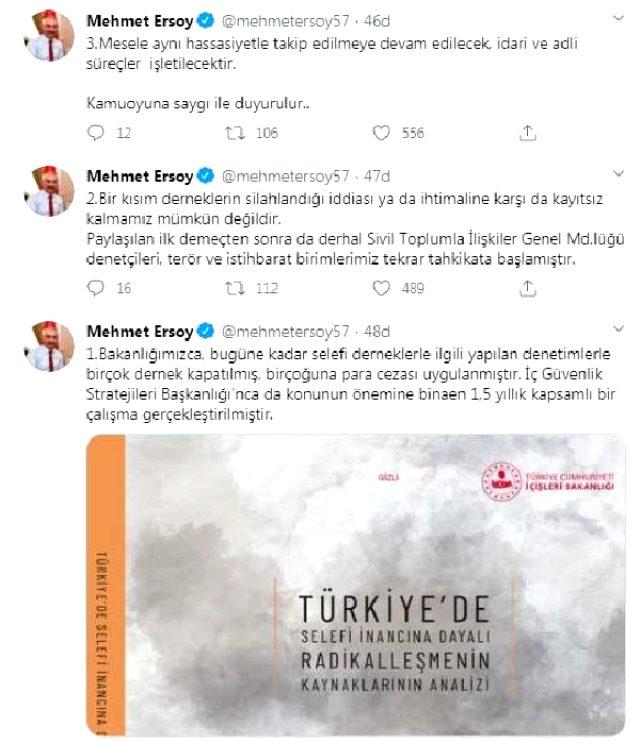 Cübbeli'nin 'iç savaş' sözleri İçişleri Bakanlığı'nı harekete geçirdi: Derneklerin silahlandığı iddiasına kayıtsız kalamayız