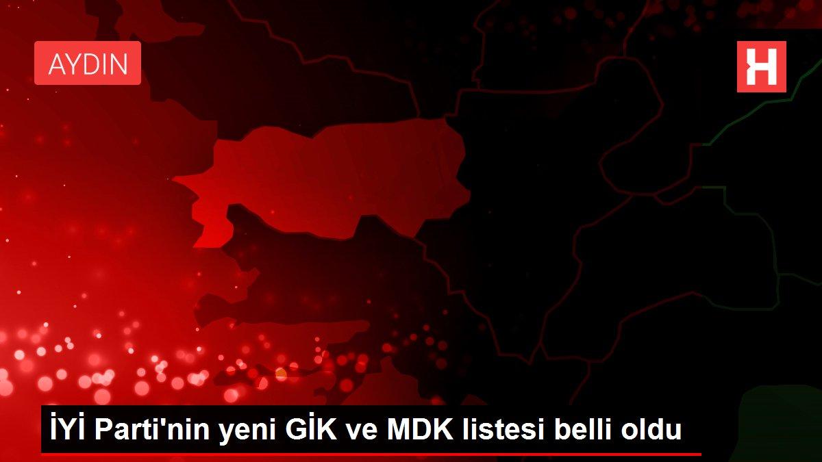 İYİ Parti'nin yeni GİK ve MDK listesi belli oldu