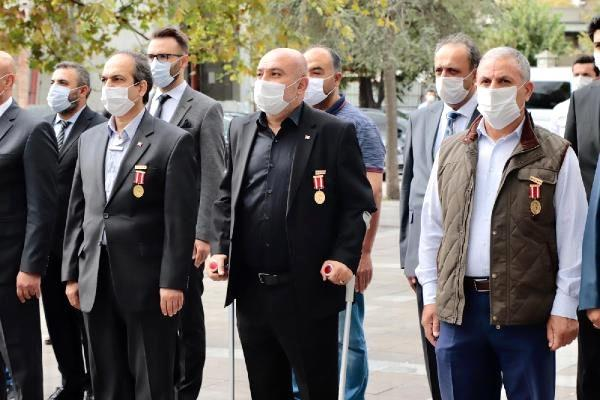 Kağıthane'de Gaziler Günü törenle kutlandı