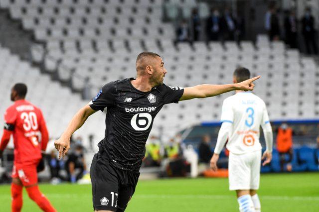 Lille deplasmanda Marsilya'yla 1-1 berabere kaldı, Burak 5 kez ofsayta düşerek maça damga vurdu