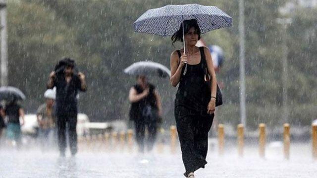 Meteoroloji, 17 ilimiz için sağanak yağış uyarısında bulundu