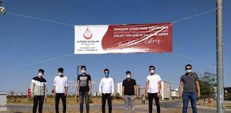 Serhat Şimşek: Alperen Ocaklarından sağlık çalışanlarına destek