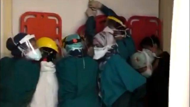 Ankara Cumhuriyet Başsavcılığı, sağlık çalışanlarına yönelik saldırı hakkında soruşturma başlattı