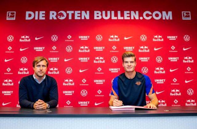 Leipzig ile sözleşme imzalayan Sörloth: Oynamayı dört gözle bekliyorum