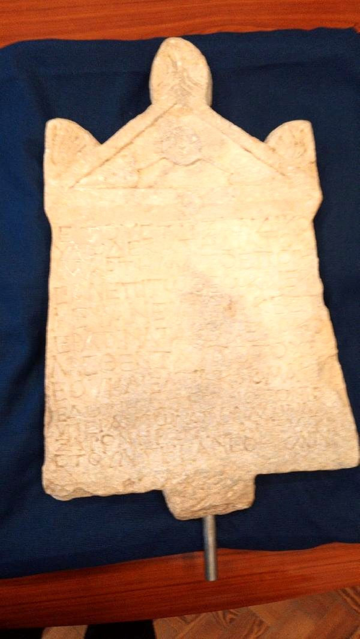 Lidya dönemine ait yazıt 23 yıl sonra yeniden Türkiye'de(Ek fotoğraflarla geniş haber)