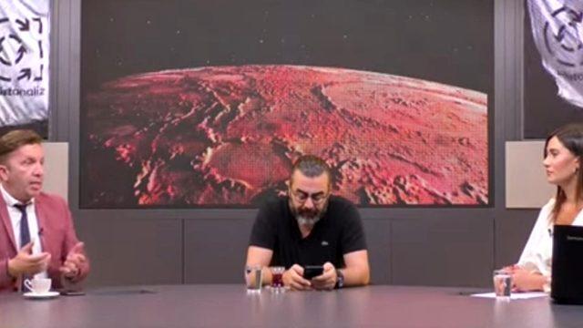 Spor yorumcusu Evren Turhan, 'Seninle aynı programa çıkmam' dediği Emre Bol'la aynı yayında yer aldı