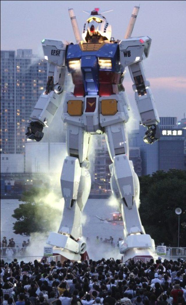 Gundam robot kaç metre? Gundam kaç kilo ağırlığında? Gundam robotun özellikleri neler? Japon yapımı Gundam robot hakkında merak edilenler