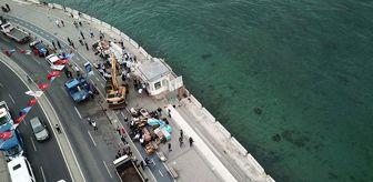 Kız Kulesi: İstanbul Üsküdar'daki iki büfe yıkıldı! İşletmeciler tepkili