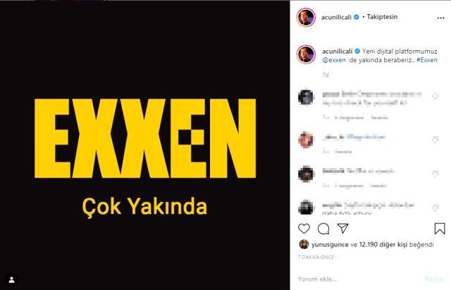 Acun Ilıcalı'nın Exxen adında yeni bir dijital platform kurdu