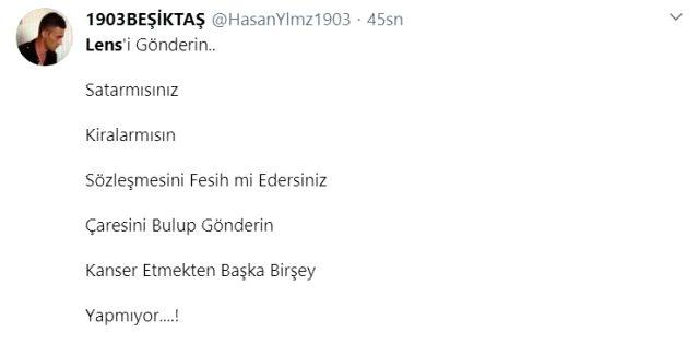 Jeremain Lens'in Rio Ave maçındaki performansı, Beşiktaş taraftarını çileden çıkardı