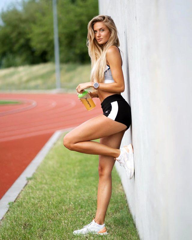 Alica Schmidt, Borussia Dortmund'un yeni fitness antrenörü oldu