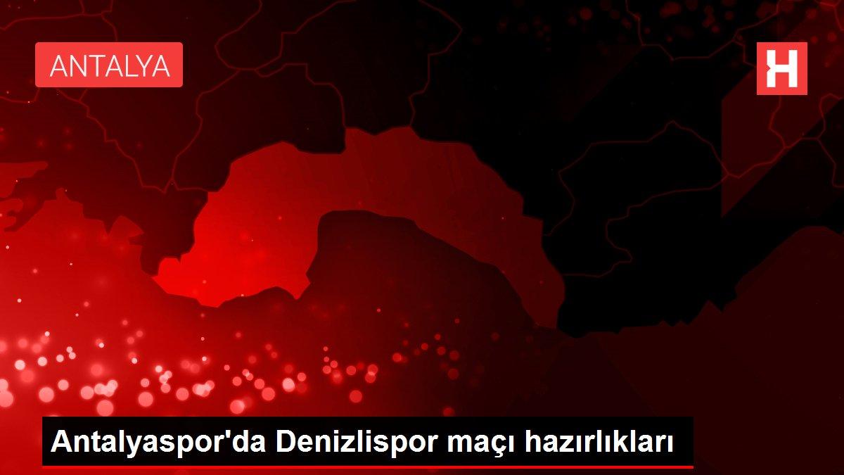Antalyaspor'da Denizlispor maçı hazırlıkları