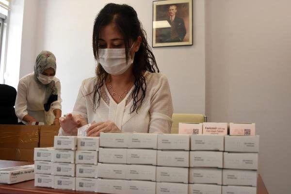 Son dakika haber | Konya'da koronavirüs hastalarının evine, mobil ilaç dağıtımı