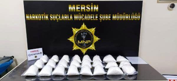 Son dakika haberleri! Mersin'de 12 kilogram metamfetamine 8 gözaltı
