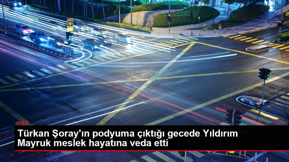 Türkan Şoray'ın podyuma çıktığı gecede Yıldırım Mayruk meslek hayatına veda etti