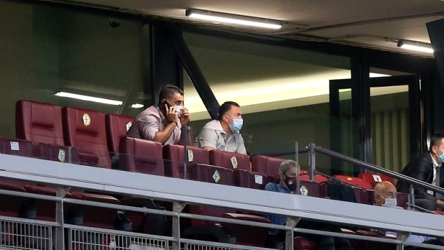 İrfan Can için gelen Lyon yetkileri, Fatih Karagümrük maçını tribünden izledi