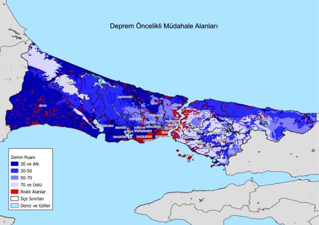 İstanbul'un deprem haritası: Avrupa yakası Asya'ya göre daha riskli, Tarihi Yarımada ise alarm veriyor