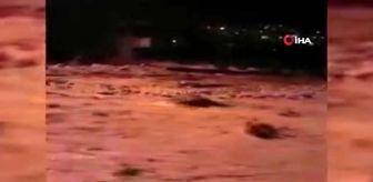Hozat: Tunceli Hozat'ta sel, alt ve üst yapıya zarar verdi