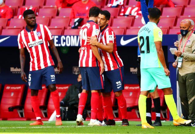 Suarez'in 2 gol attığı maçta Atletico Madrid, Granada'yı 6-1 mağlup etti
