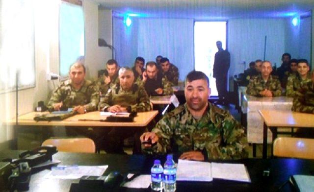 Azerbaycan'ın Ermenistan'a karşı yürüttüğü operasyonu yönettiği harekat merkezinden ilk kare yayınlandı