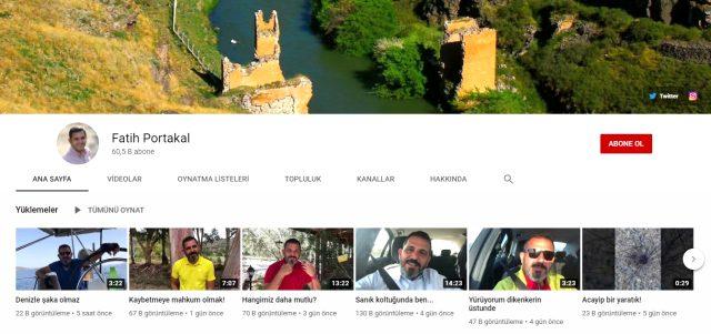 Fox TV'den ayrılan Fatih Portakal, YouTube kanalı açtı