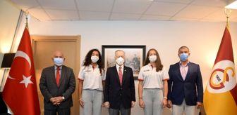 Belgrad: Naran Akkay ile Ruken Ülgey'den Başkan Mustafa Cengiz'e ziyaret