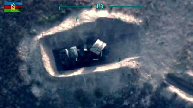 Azerbaycan, Ermenistan ordusuna ait füze sistemlerini vurdu
