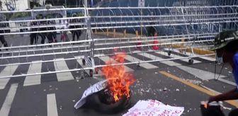 El Salvador: Son dakika haberi   El Salvador'da emekli askerler protesto düzenledi - SAN