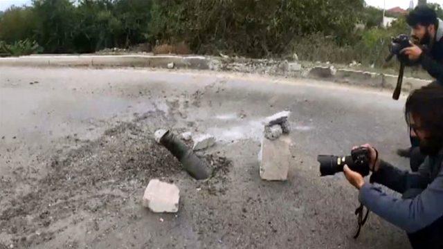 Ermenistan sivil bölgelere saldırılarını sürdürüyor: Gazeteciler de hedef oldu