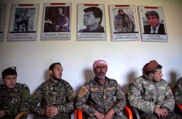 İşgal altındaki Karabağ'da Ermenistan-PKK/YPG işbirliği!
